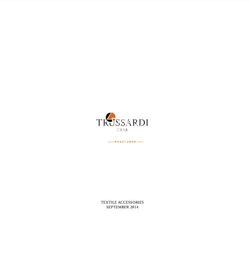TR Trussardi casa text accessories sept 2014